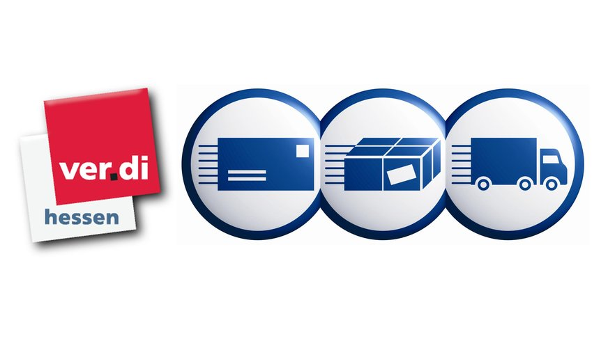 PSL Hessen ver.di Logo