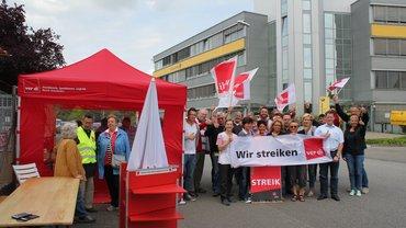 unbefristeter Streik Wiesbaden