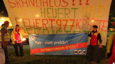 Aktion befristet Frankfurt