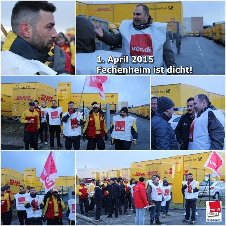 Poststreik Verdi