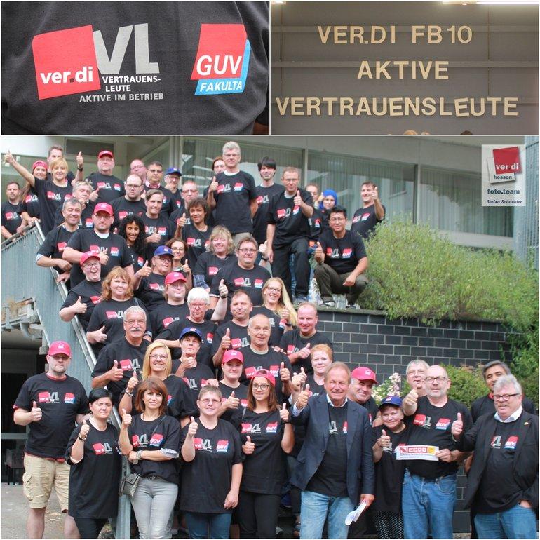 VL Versammlung Frankfurt mit Frank Bsirske und Olaf Hofmann