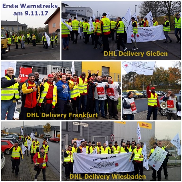 2017-11-09 Warnstreik Delivery