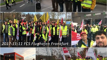2017-11-14 Warnstreil Delivery Kassel