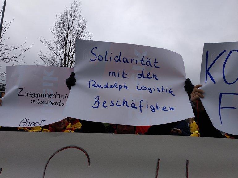 Delivery Kassel - wir lassen uns nicht spalten