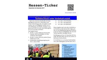 Hessen-Ticker Ausgabe Dezember 2017