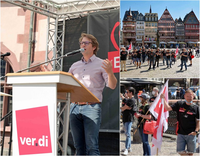 Aktion unbefristet 13.6. in Frankfurt